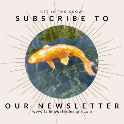 Subscribe to the Falling Water Gardens Newsletter